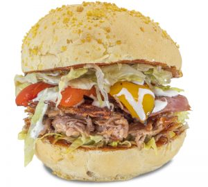 Hamburger_Pulled Pork